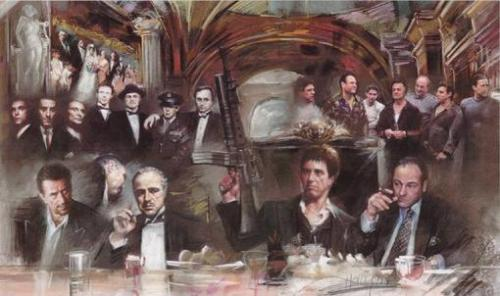 the last gangster supper!